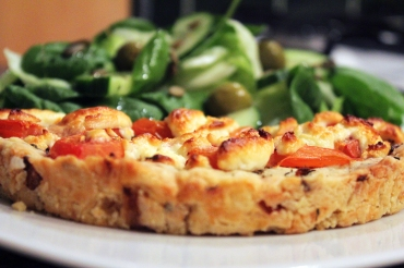 Goat's Cheese and Tomato Tart