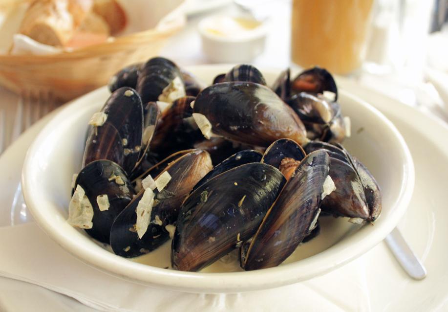 Mussels, Naomi Winters